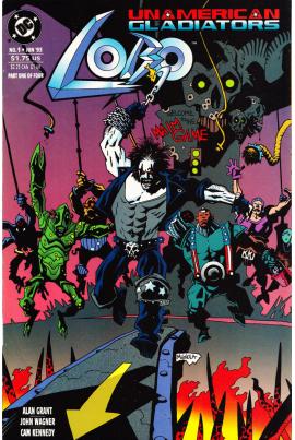 Lobo: Unamerican Gladiators #1
