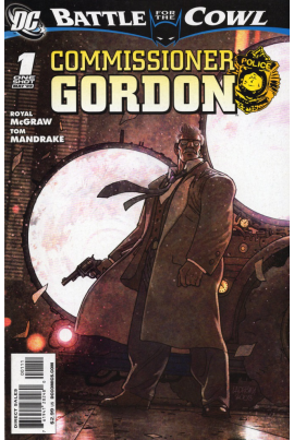 Batman: Battle for the Cowl - Commissioner Gordon