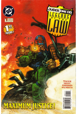 Judge Dredd: Legends of the Law #1