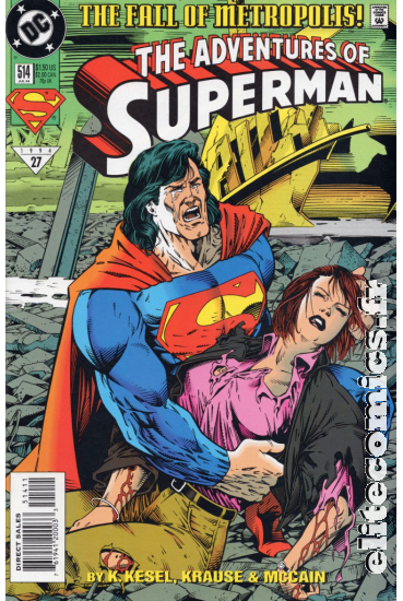 The Adventures of Superman #514