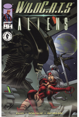 WildC.A.T.s / Aliens (Gil Kane variant cover)