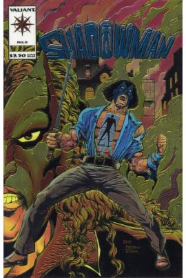 Shadowman #0 [chromium variant]