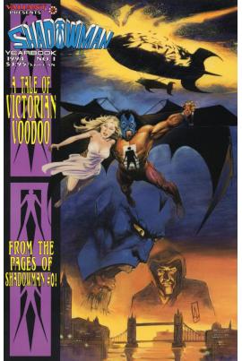 Shadowman Yearbook #1