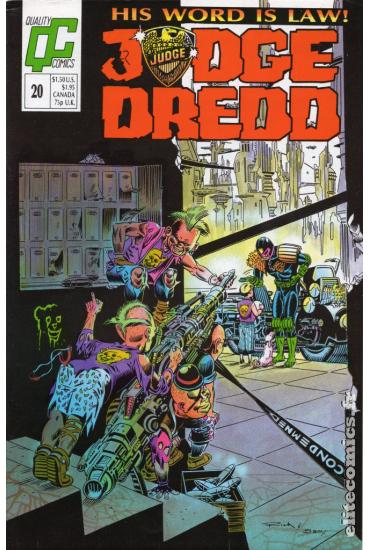 Judge Dredd #20 [US issue]