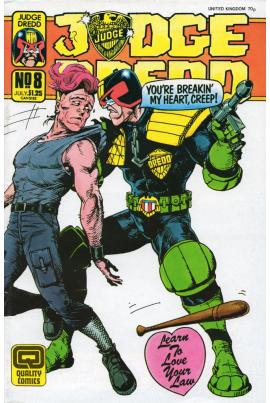 Judge Dredd #8 [US variant]