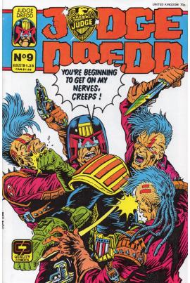 Judge Dredd #9 [US variant]