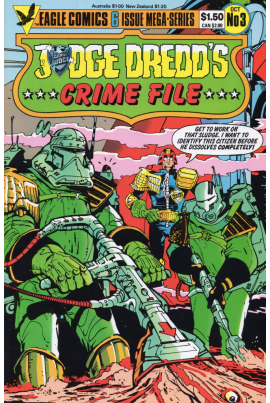Judge Dredd's Crime File #3