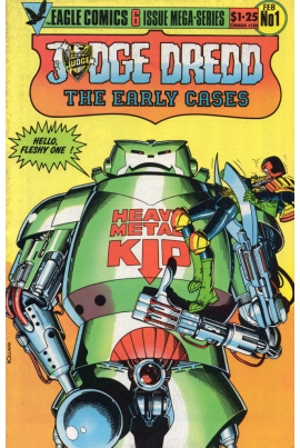 Judge Dredd: The Early Cases #1