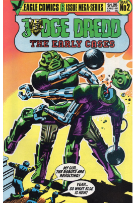 Judge Dredd: The Early Cases #2
