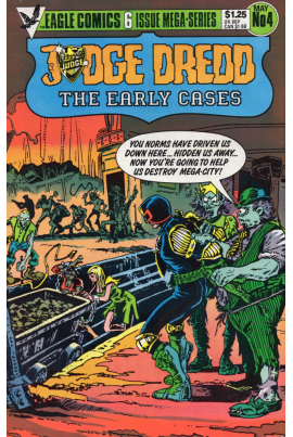 Judge Dredd: The Early Cases #4