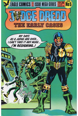 Judge Dredd: The Early Cases #5