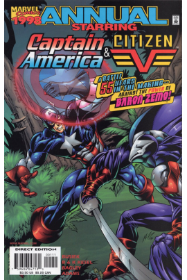 Captain America Annual 1998
