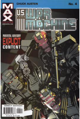 U.S. War Machine #4
