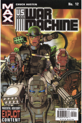 U.S. War Machine #12