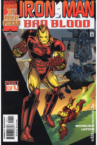 Iron Man: Bad Blood #1