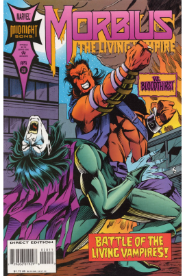 Morbius: The Living Vampire #20