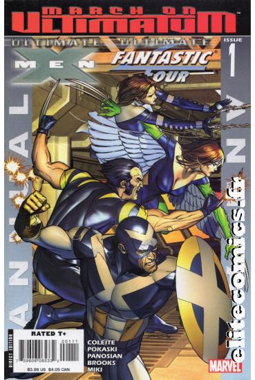 Ultimate X-Men / Ultimate Fantastic Four Annual #1