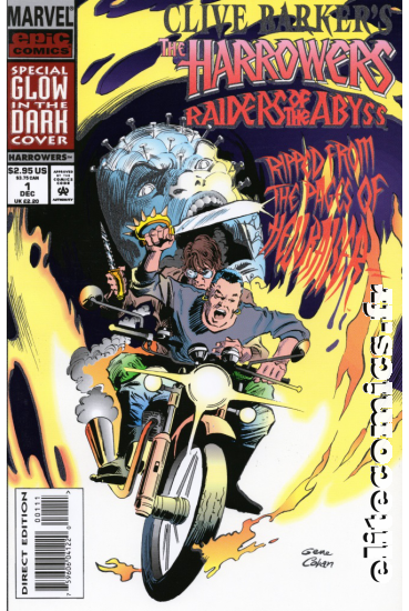 Clive Barker's The Harrowers #1