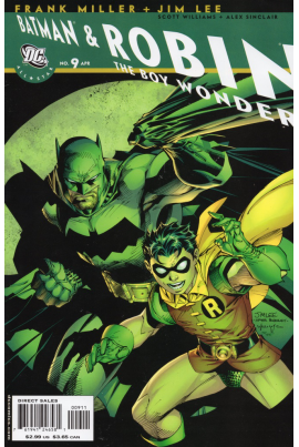 All Star Batman & Robin, The Boy Wonder #9