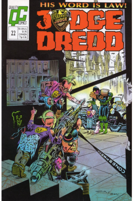 Judge Dredd #22 [UK issue]