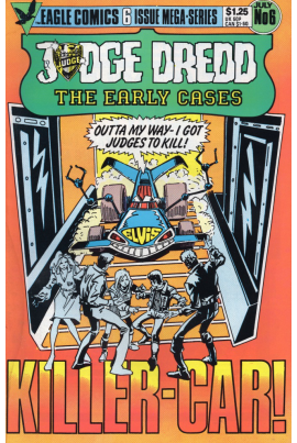 Judge Dredd: The Early Cases #6