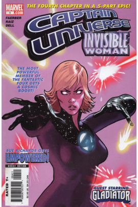 Captain Universe / Invisible Woman