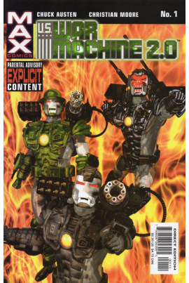 U.S. War Machine 2.0 #1