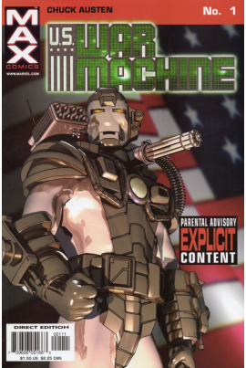 U.S. War Machine #1