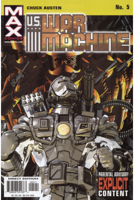 U.S. War Machine #5