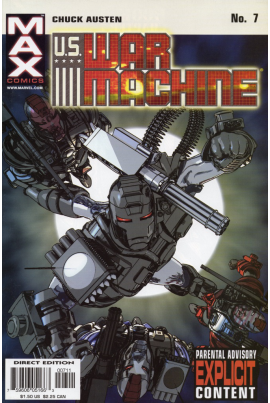 U.S. War Machine #7